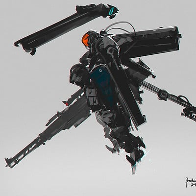 Benedick bana tactical aerial sniper lores