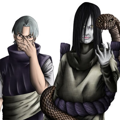 Matt fraser orochimaru and kabuto