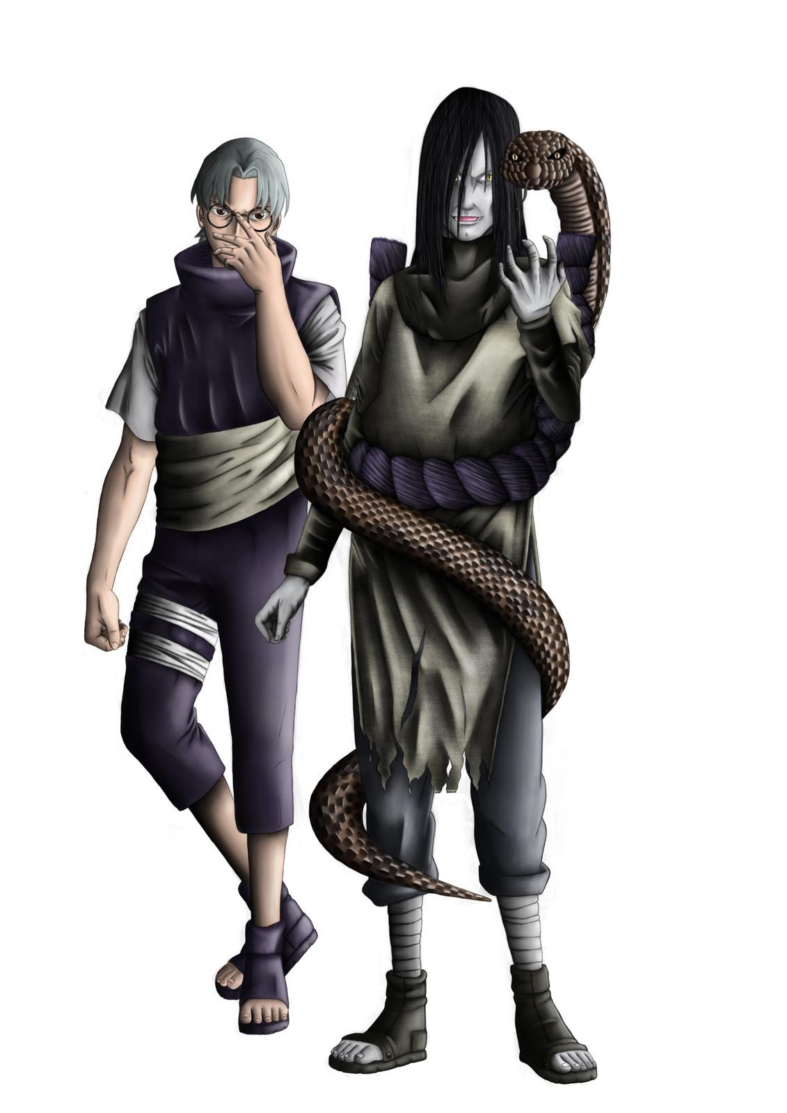 Orochimaru (Right) & Kabuto (Left)