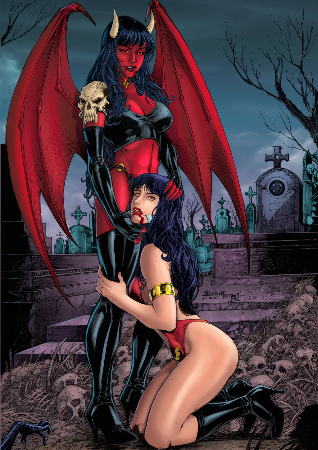 Purgatory and Vampirella