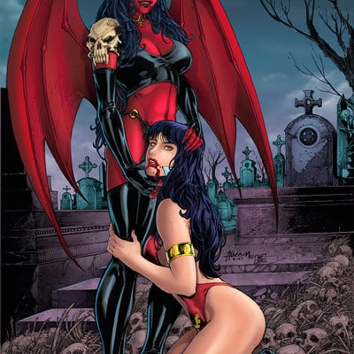 Matt james purgatory and vampirella by snakebitartstudio dbc2jxg