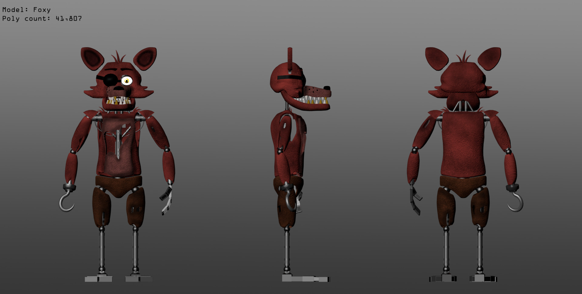 ArtStation - Five Nights at Freddy's Fan Made 3D Models