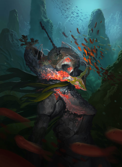 Despite having underwater elements, it lacked the thick atmosphere of underwater