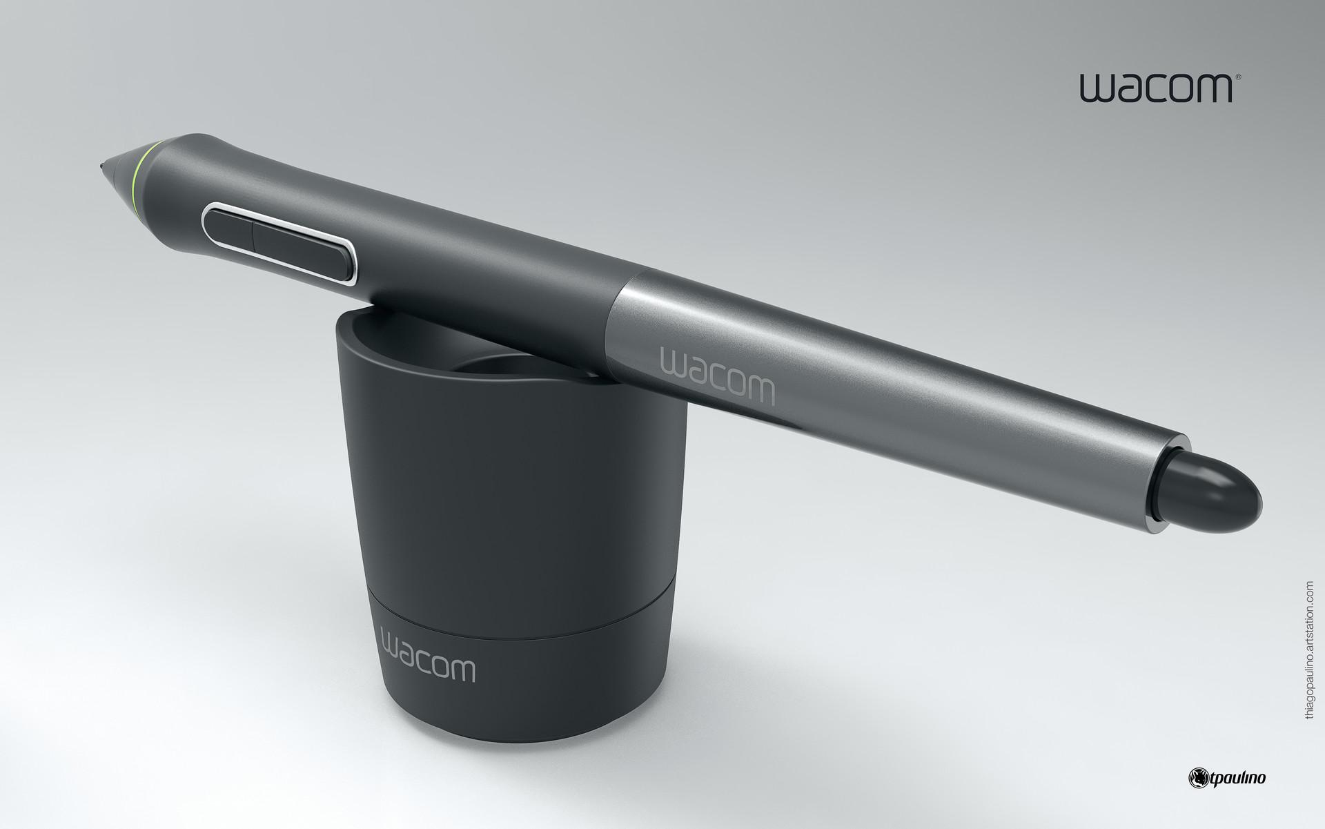 Thiago Paulino - Wacom Cintiq Pen - Fusion 360 Experiment