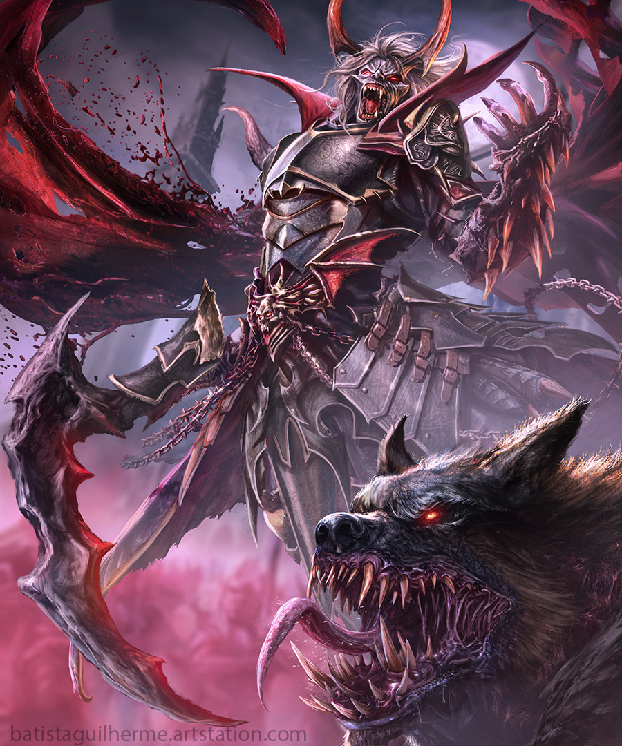 Image result for vampire lord concept art