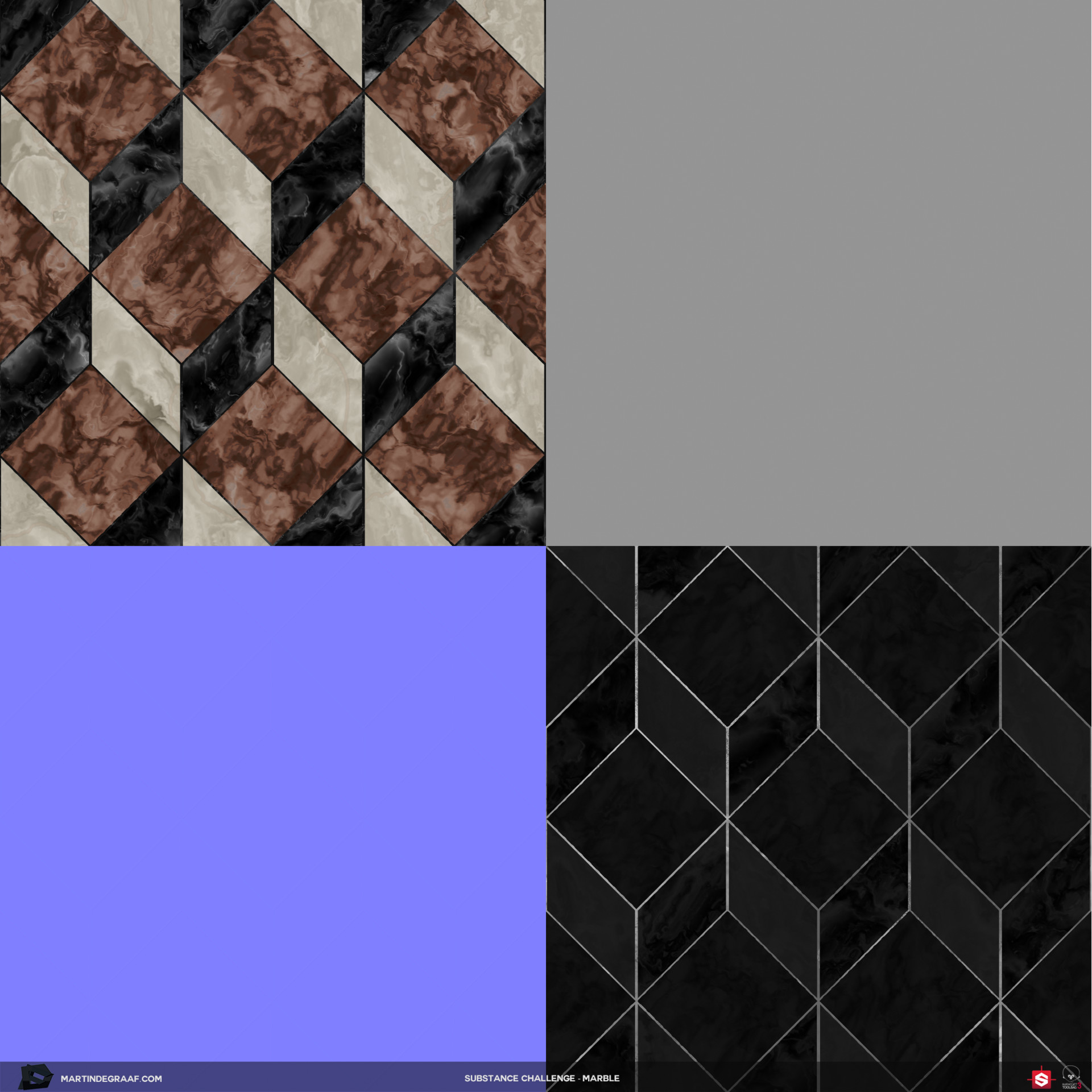 Martin de graaf substance challenge marble substance texturesheet martin de graaf 2017