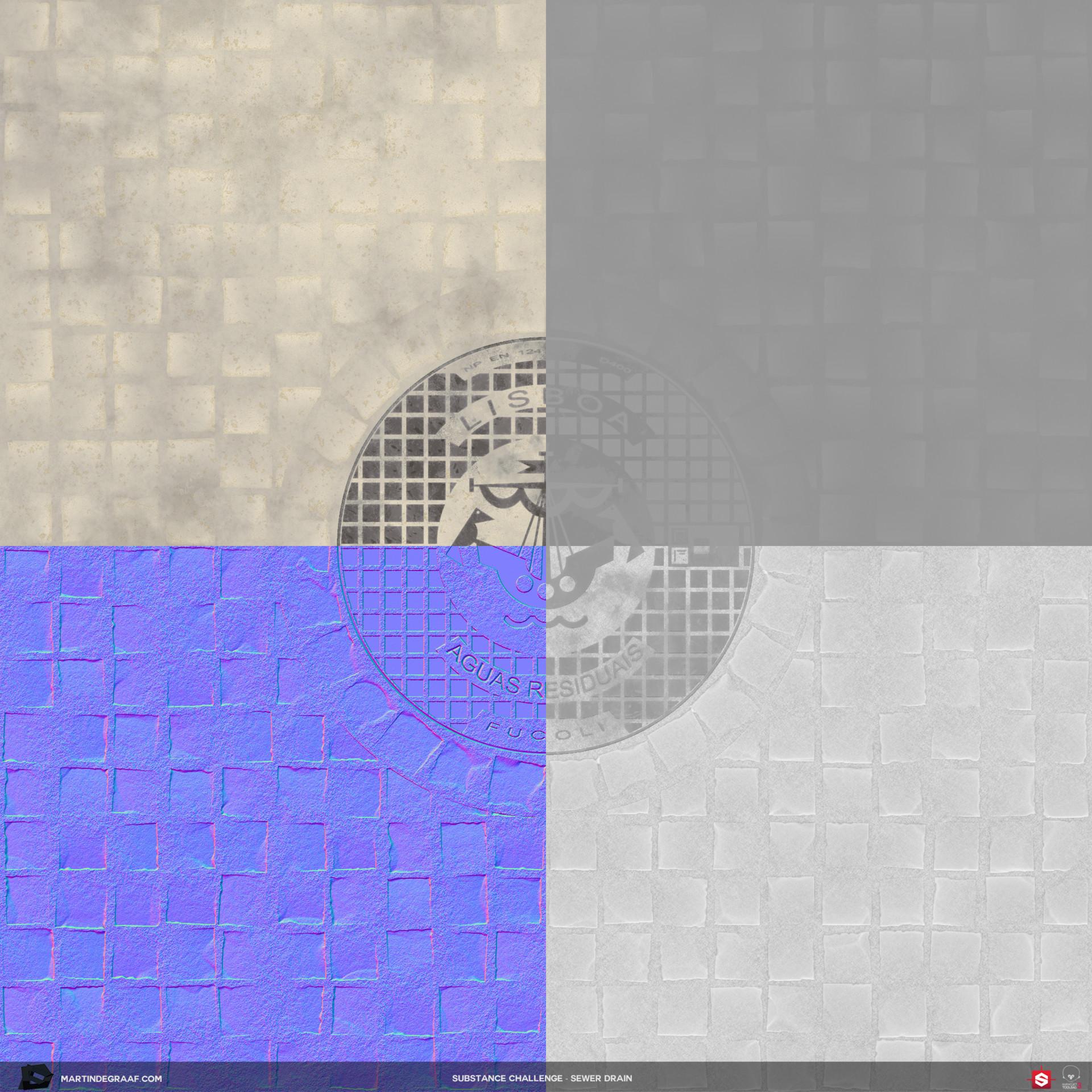 Martin de graaf substance challenge sewer drain substance texturesheet martin de graaf 2017