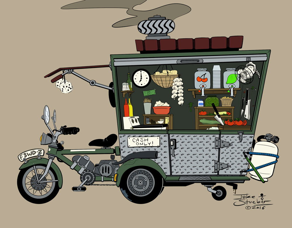 Jake stueber food truckcycle