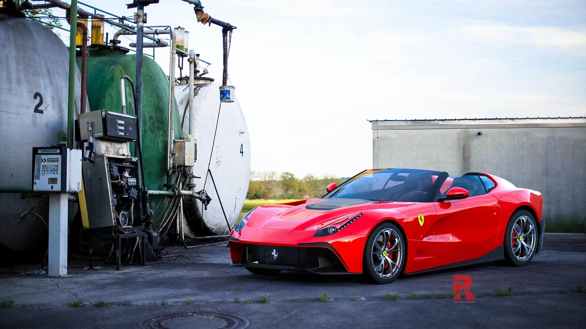 Herdin Ariee Ferrari F12 Trs