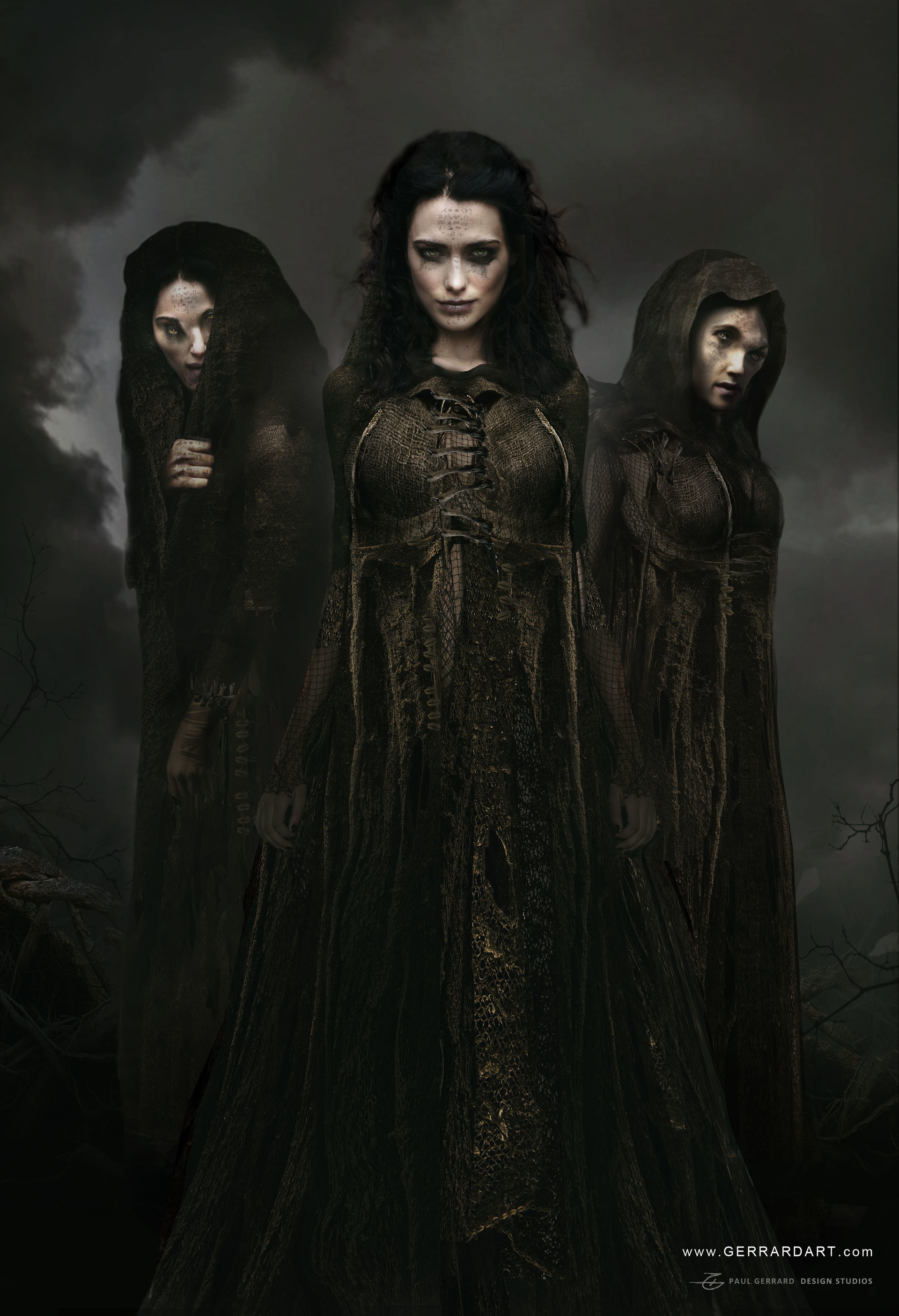 Paul gerrard three witches 08