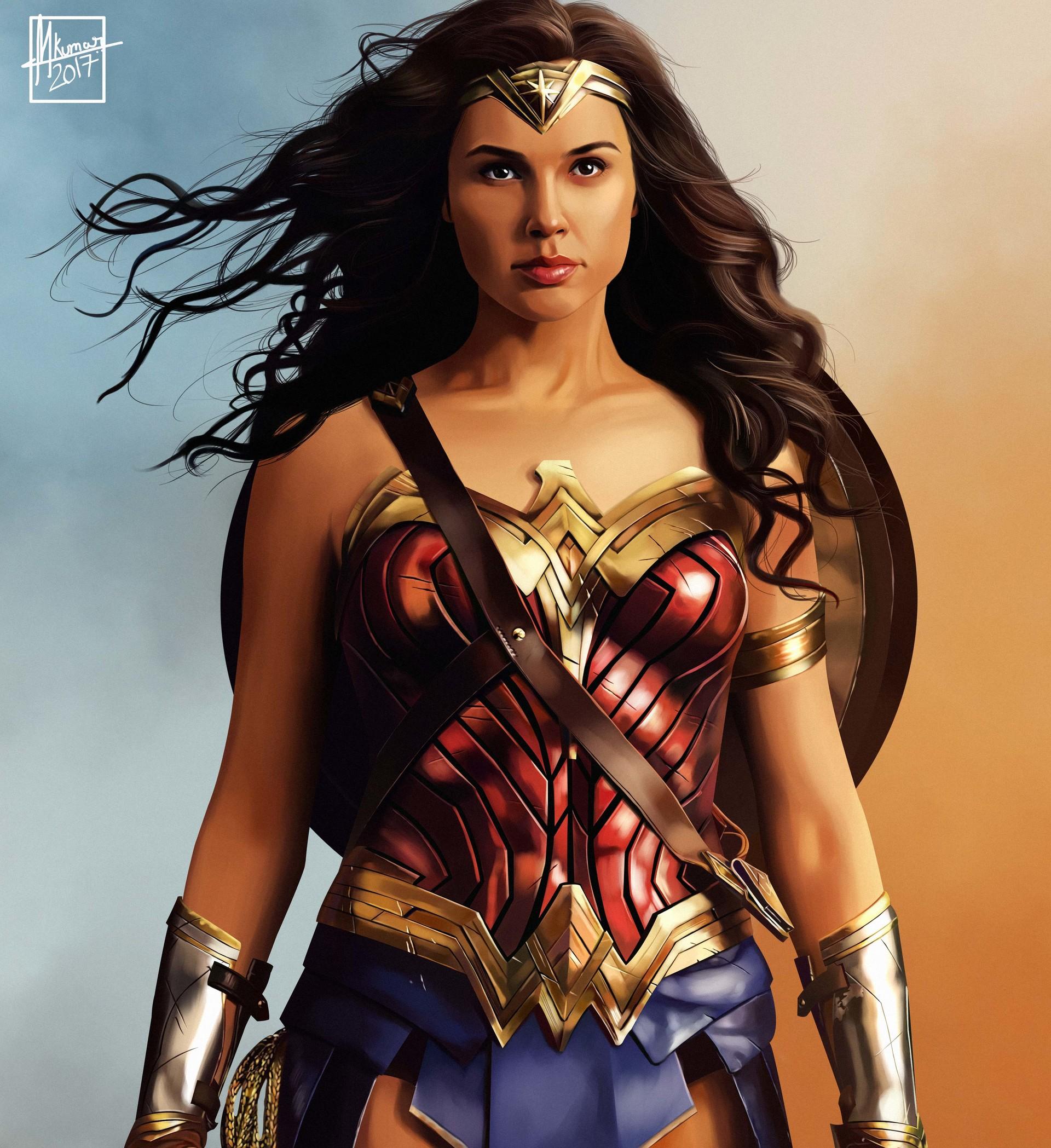 Artstation Wonder Woman 2017 Mayank Kumarr
