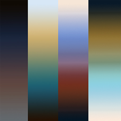 gradient map 256/256