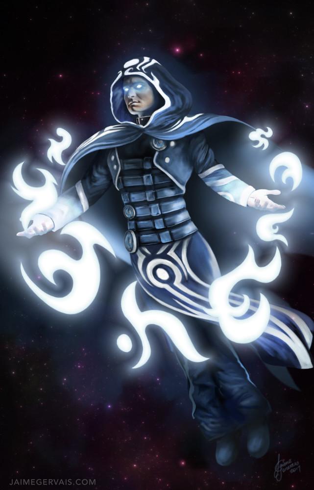 Jace Beleren - Planeswalker of Magic the Gathering