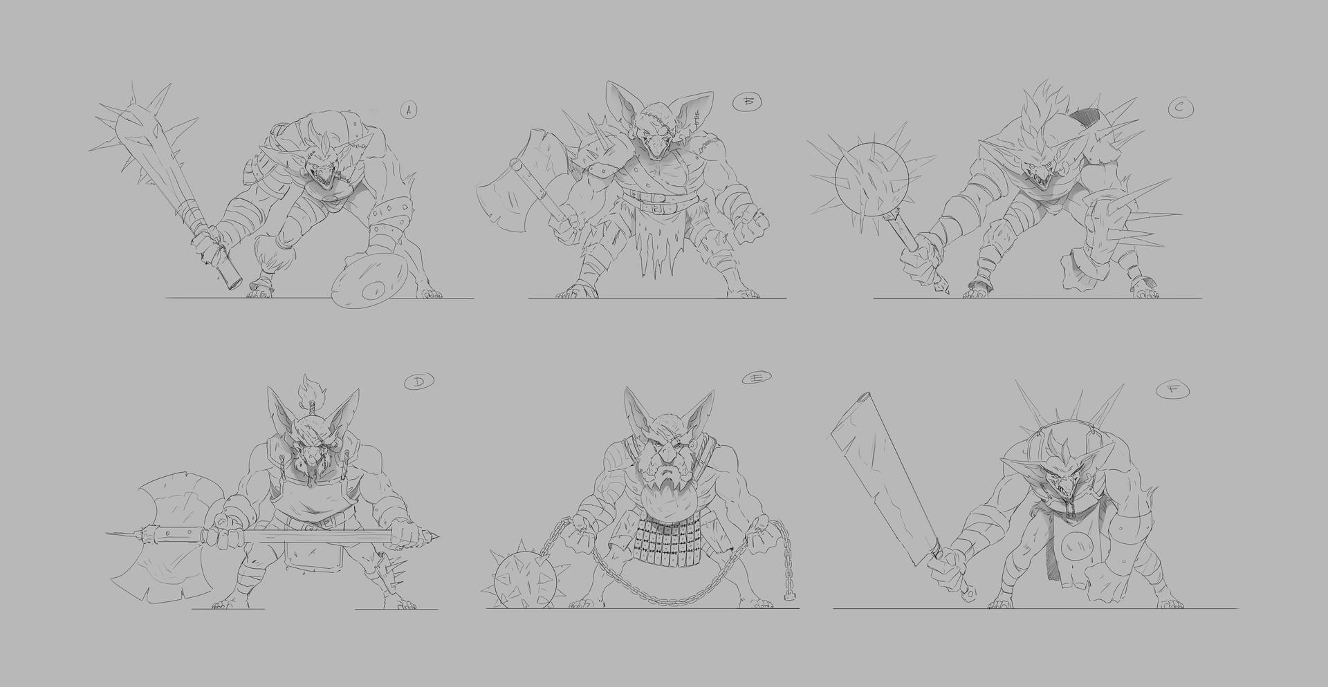 Ricardo coelho concepts goblin brute 05