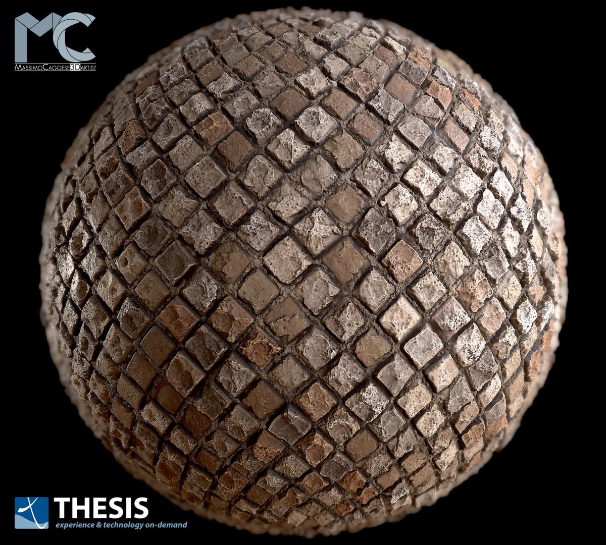 Sphere visualization (Marmoset Toolbag 3).