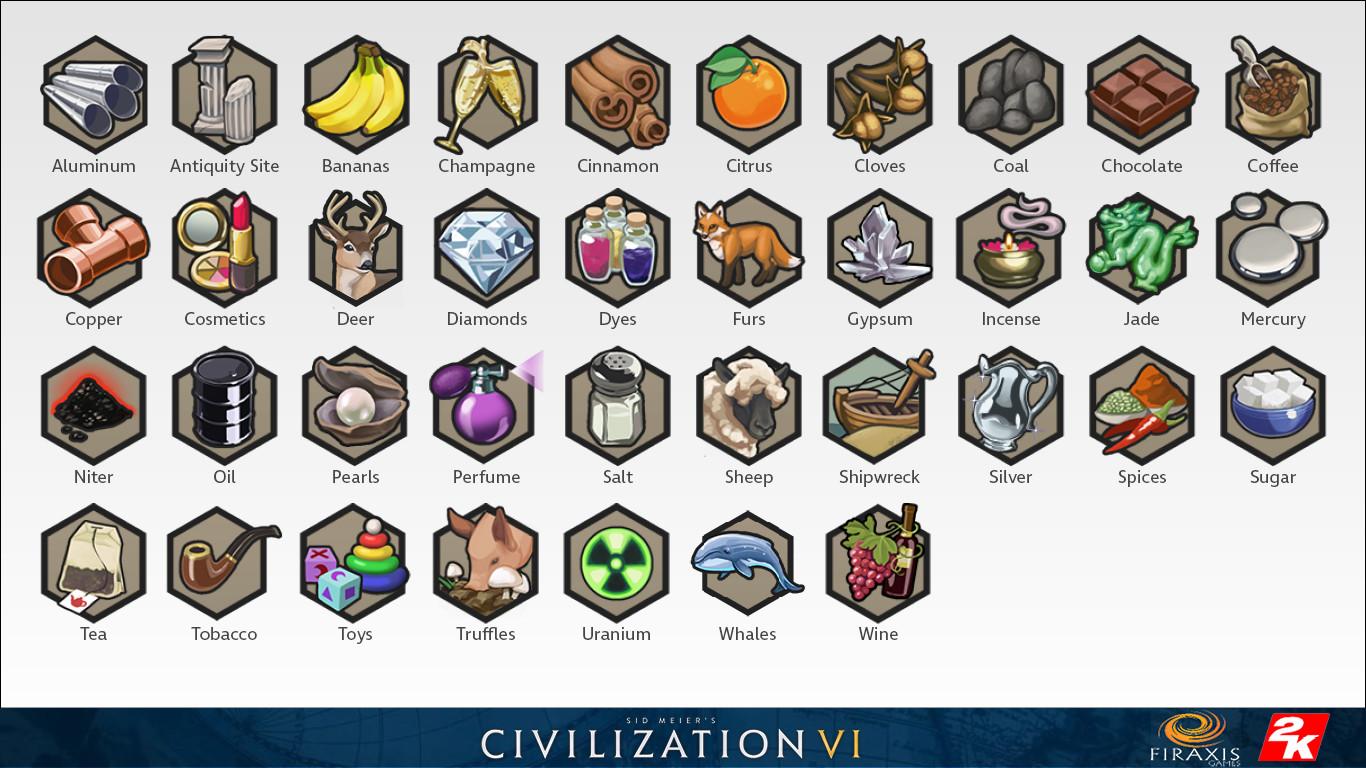 ArtStation - Civilization 6 Icons, Sam Gauss