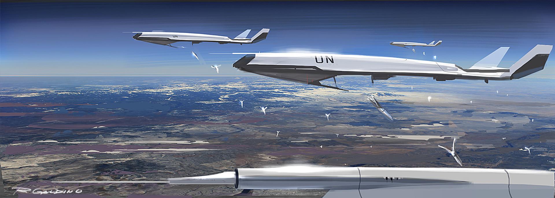 """UN Drones - """"Seed"""" Deployment"""