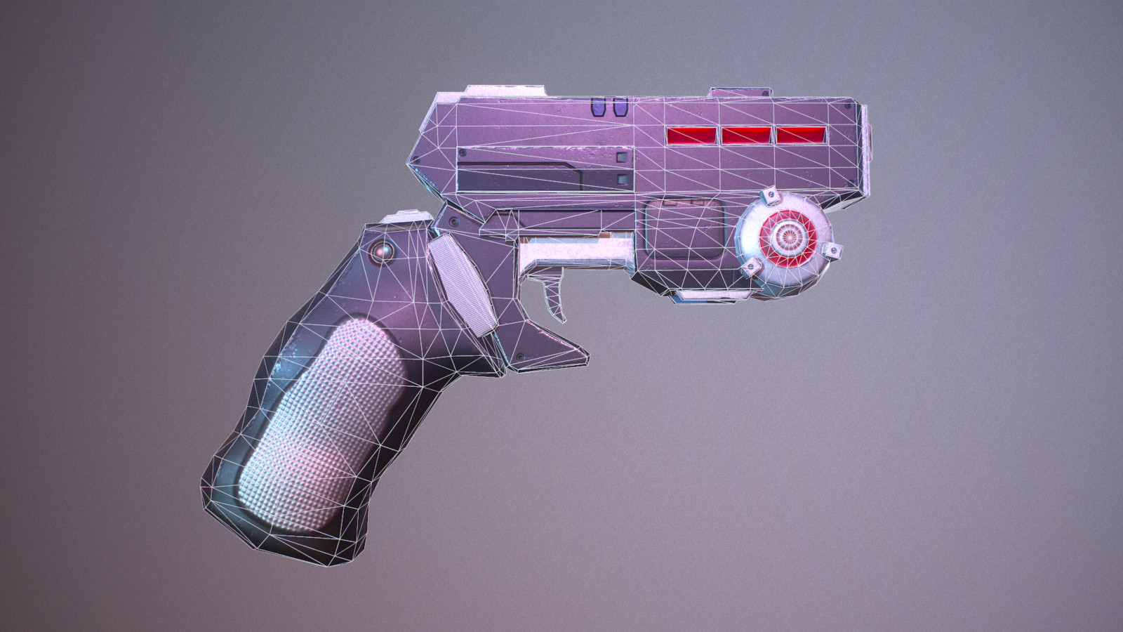 Profile of sci fi blaster, Deliverance