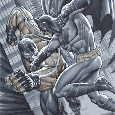 Marco santucci batman vs bane