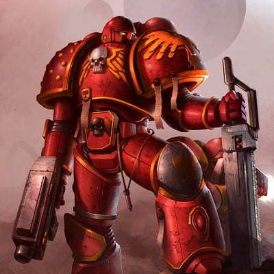 Vaggelis manousakas blood angel illustration final