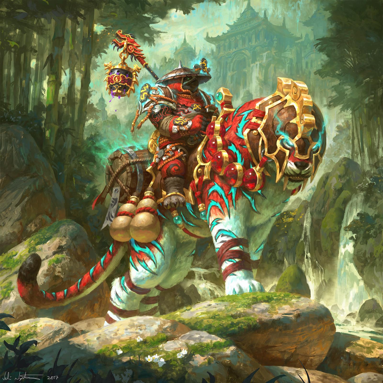 Ban-Lu, Grandmaster's Companion