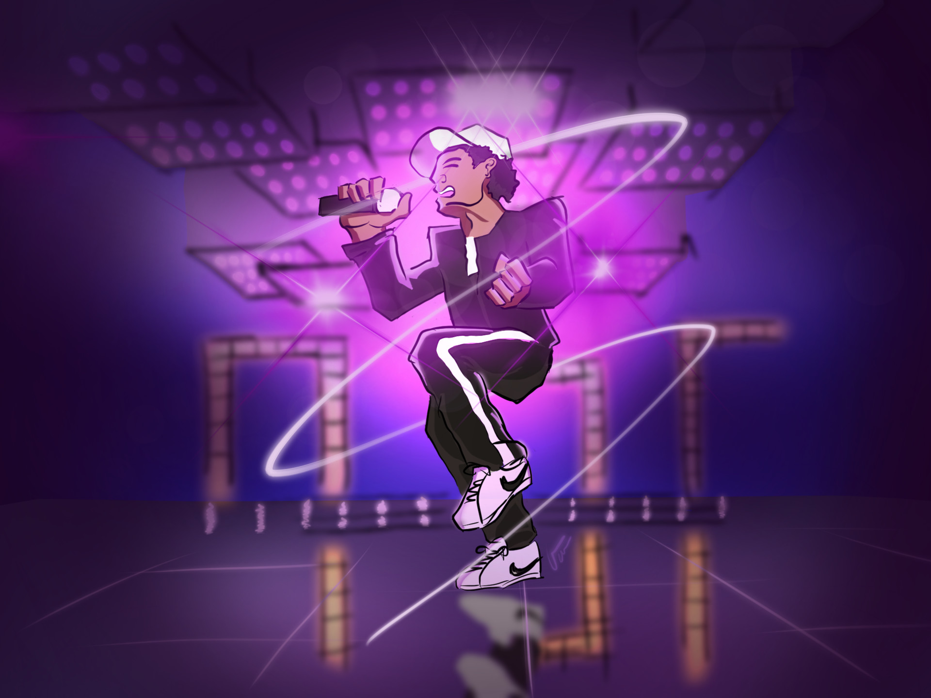 ArtStation - Bruno Mars Cartoon