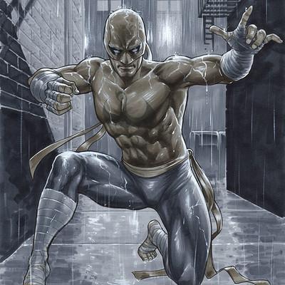 Marco santucci iron fist