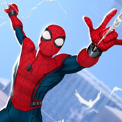 David nakayama spiderman homecoming 1000v