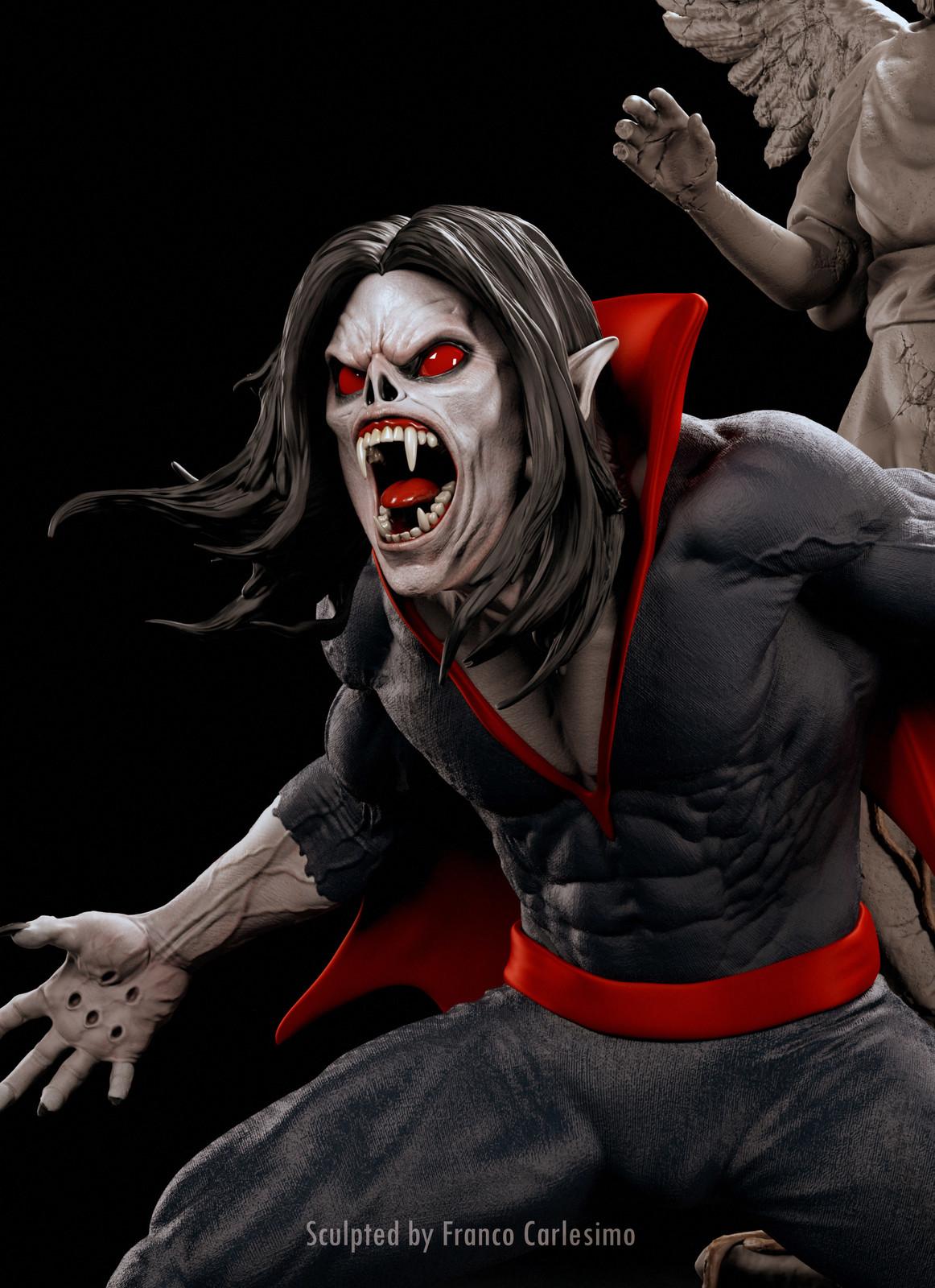 Morbius Different heads