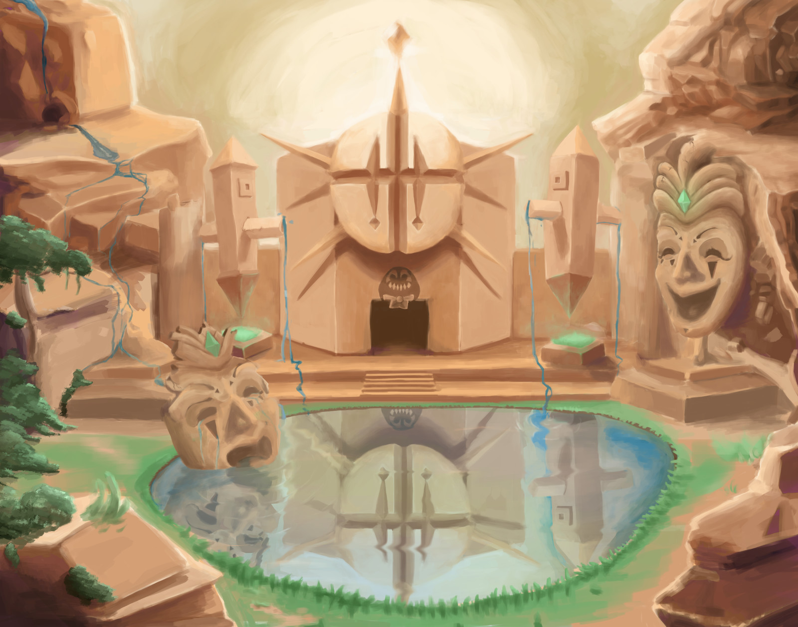 Harlequin Temple