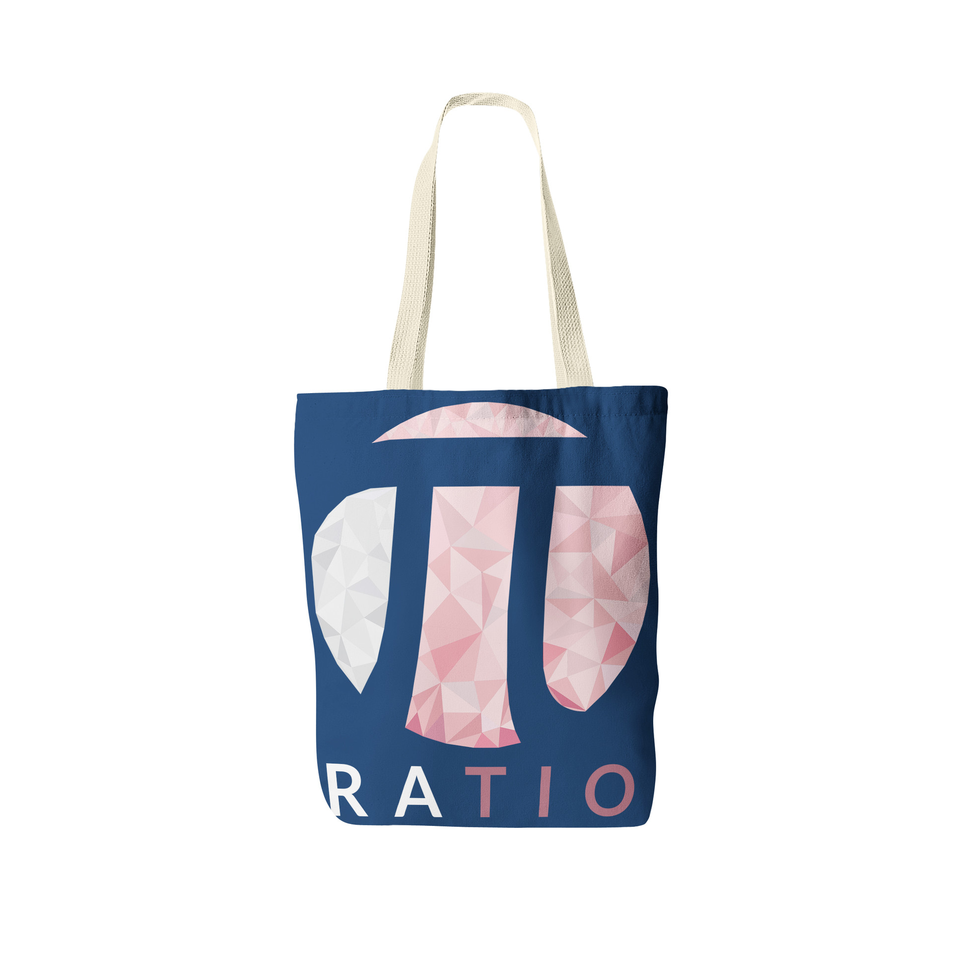 Jerry ubah ratio tote bag front view 3