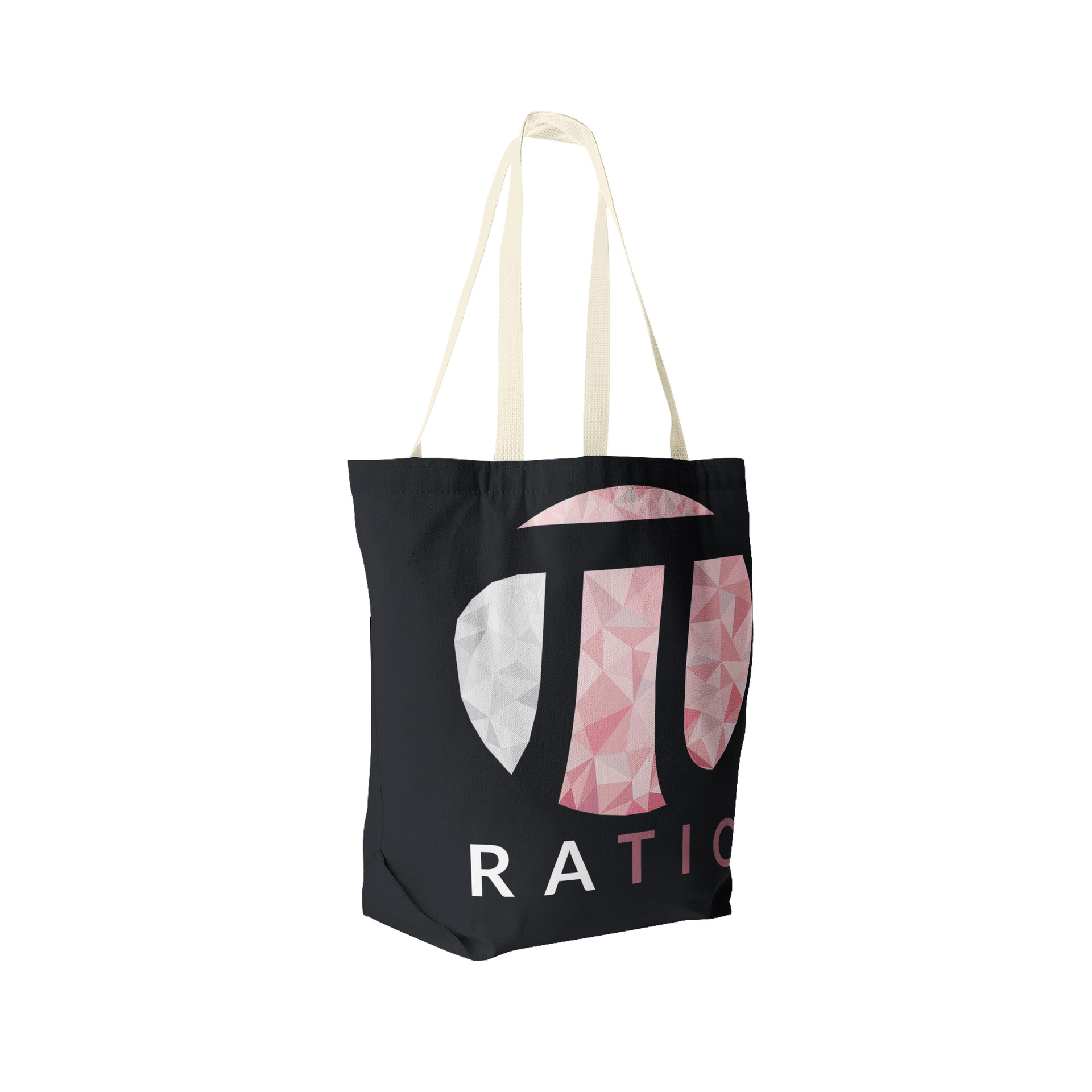 Jerry ubah ratio tote bag perspective view