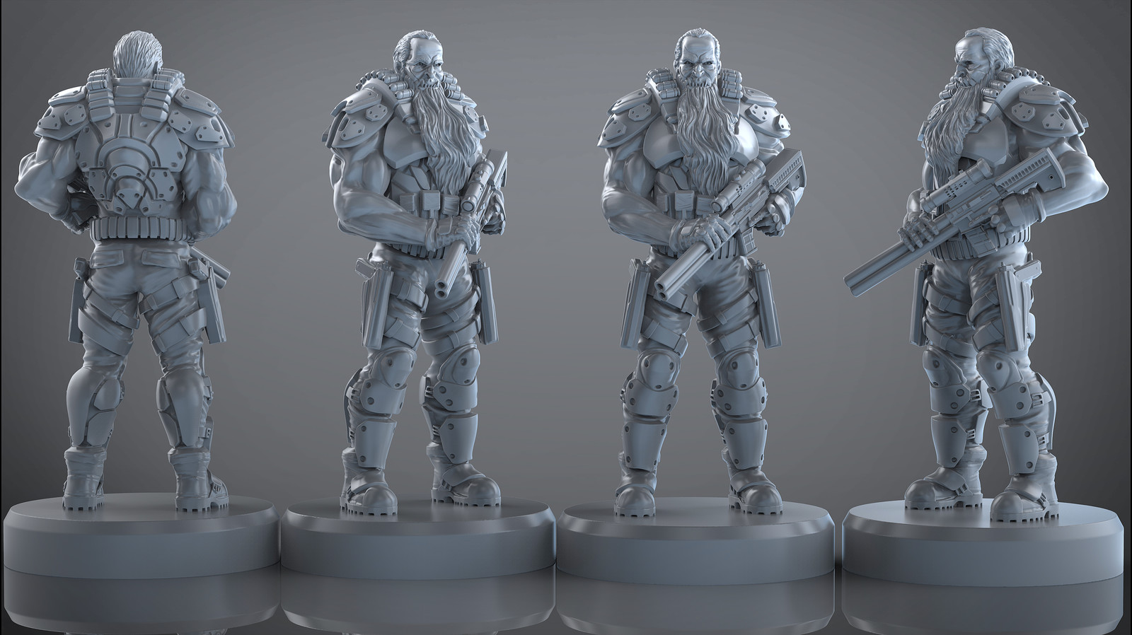 Archona games upcoming warlord miniature