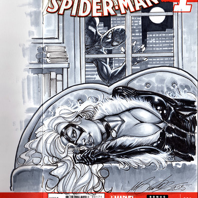 Marco santucci black cat blank cover 01