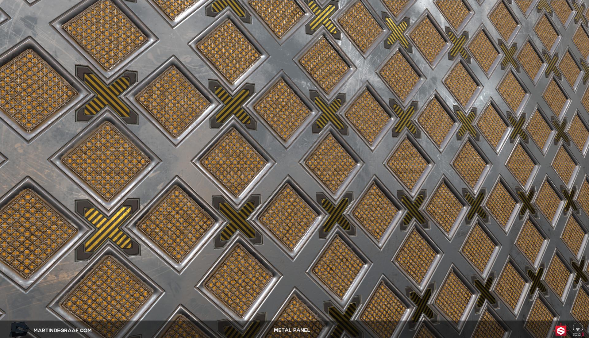 Martin de graaf metal panel substance plane martin de graaf 2017