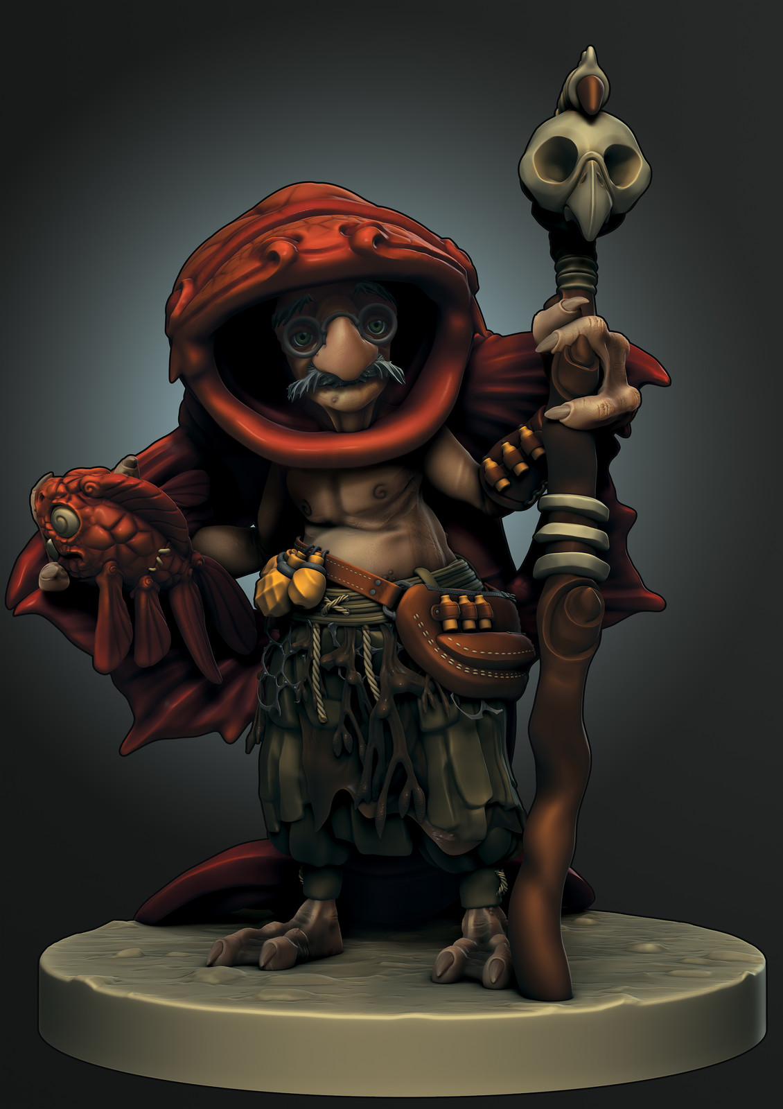 Support: Murell the Bilgwater Witch Doctor