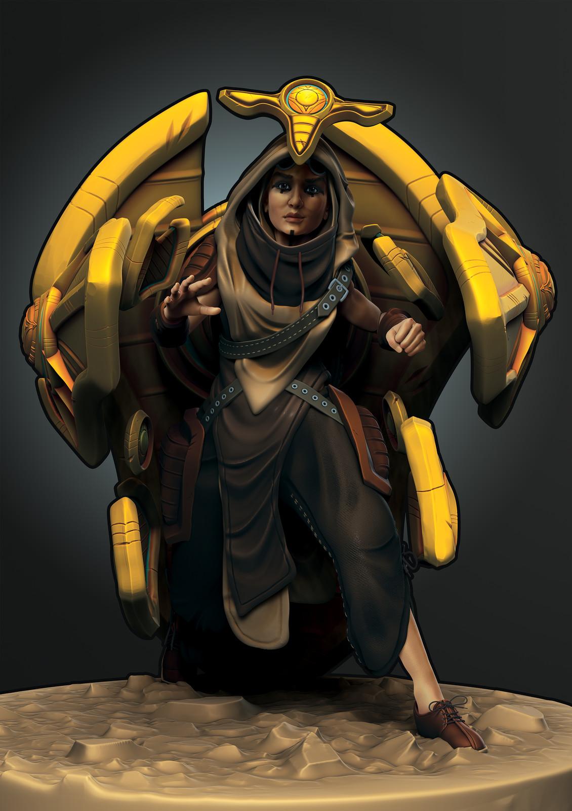 Tank: Chepri the Scarab Queen