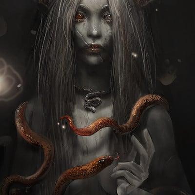 Sandra duchiewicz snake enchantress