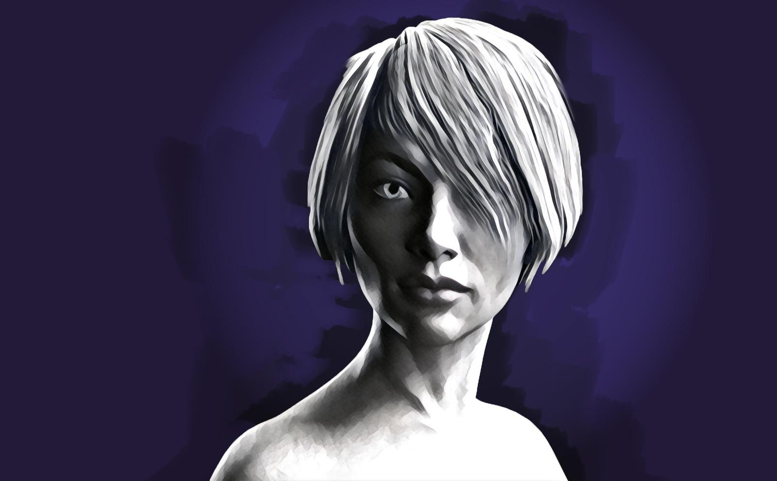 Portrait - Stare