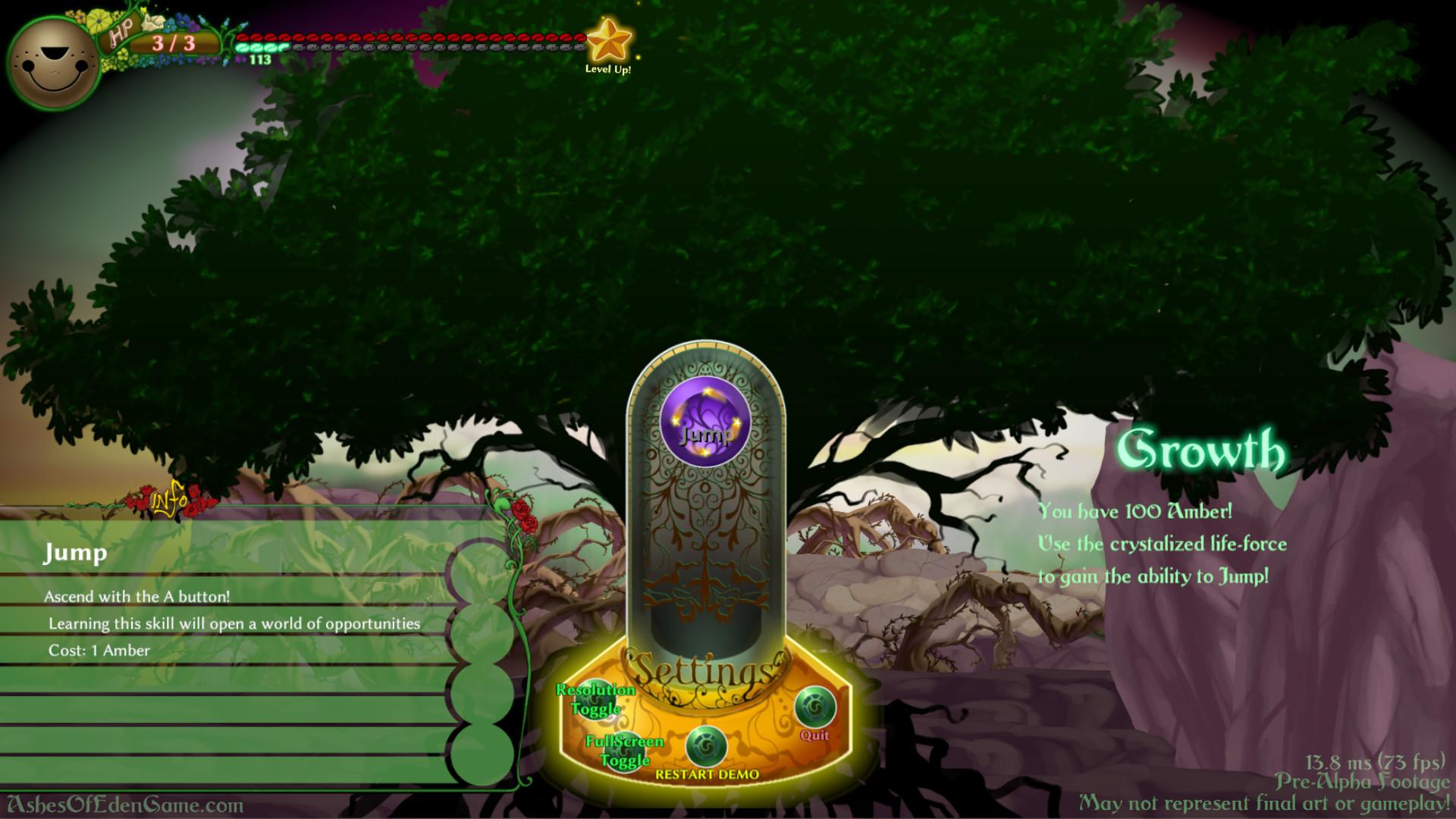ArtStation - Ashes of Eden UI, Wesley P Eldridge