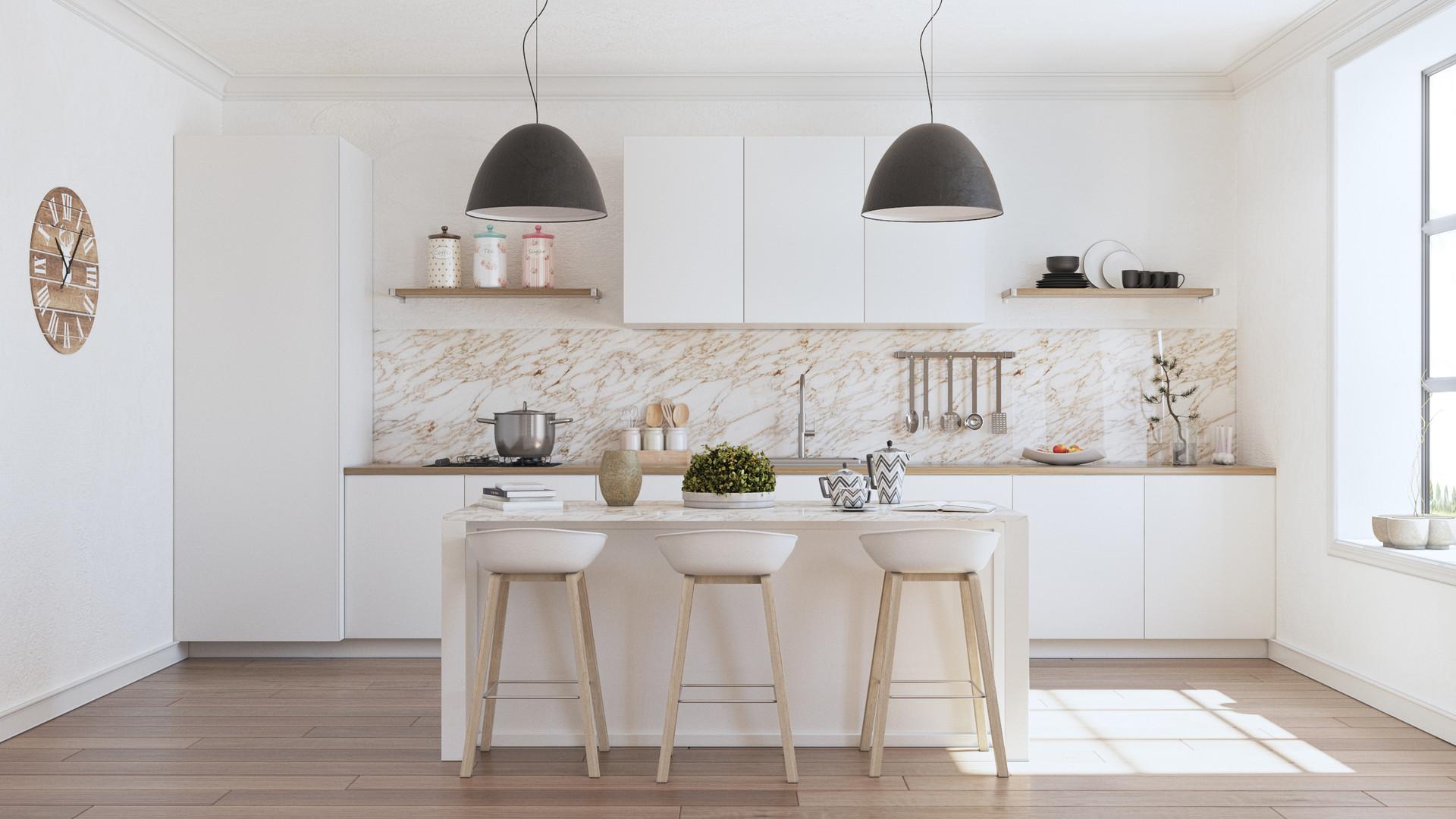 Artstation Scandinavian Kitchen Cyryl Laurent Maison