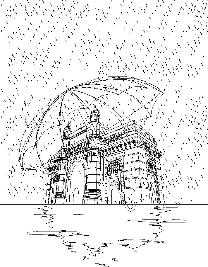 Rajesh sawant gateway in rain wireframe