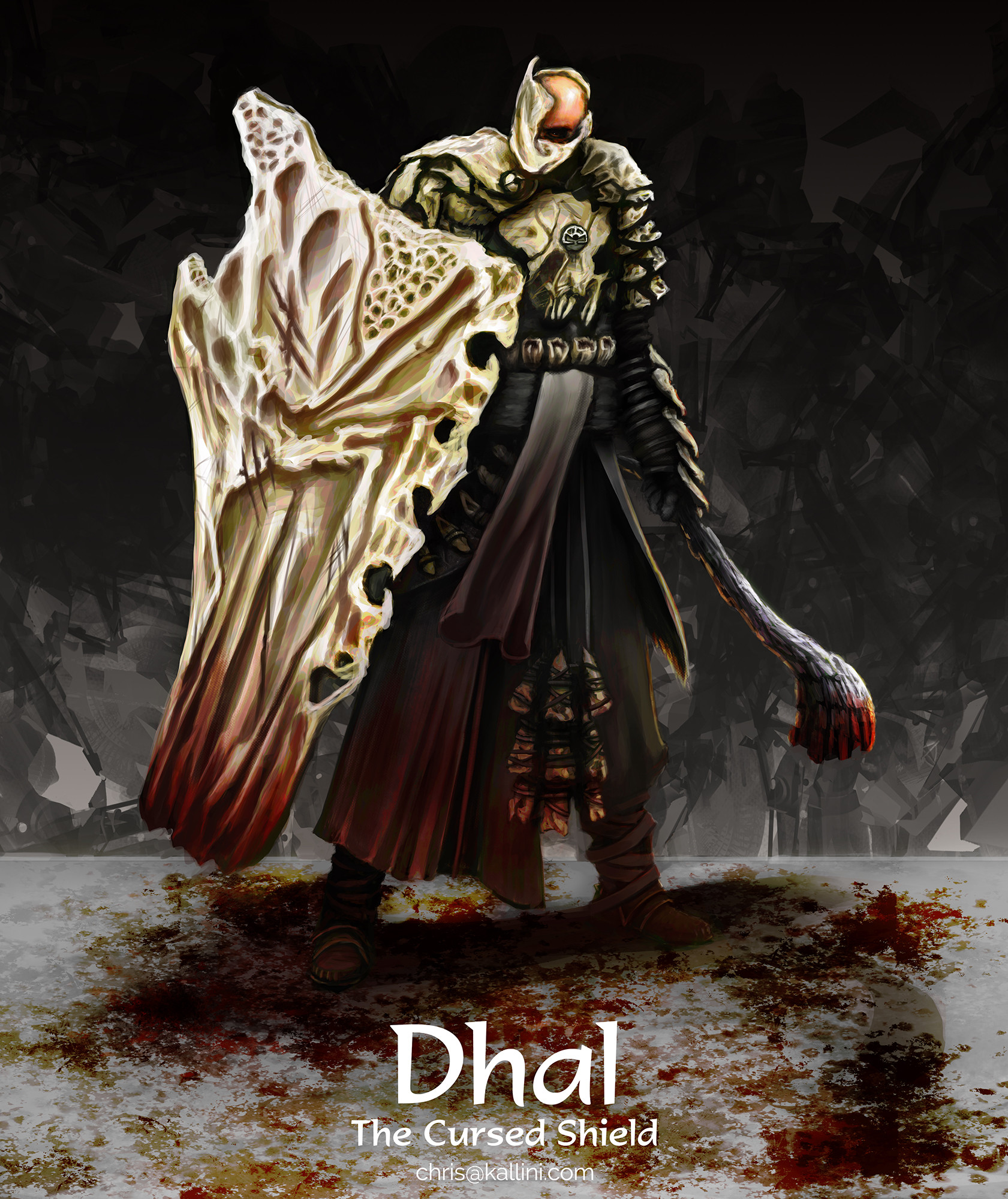 Dhal, the Cursed Shield