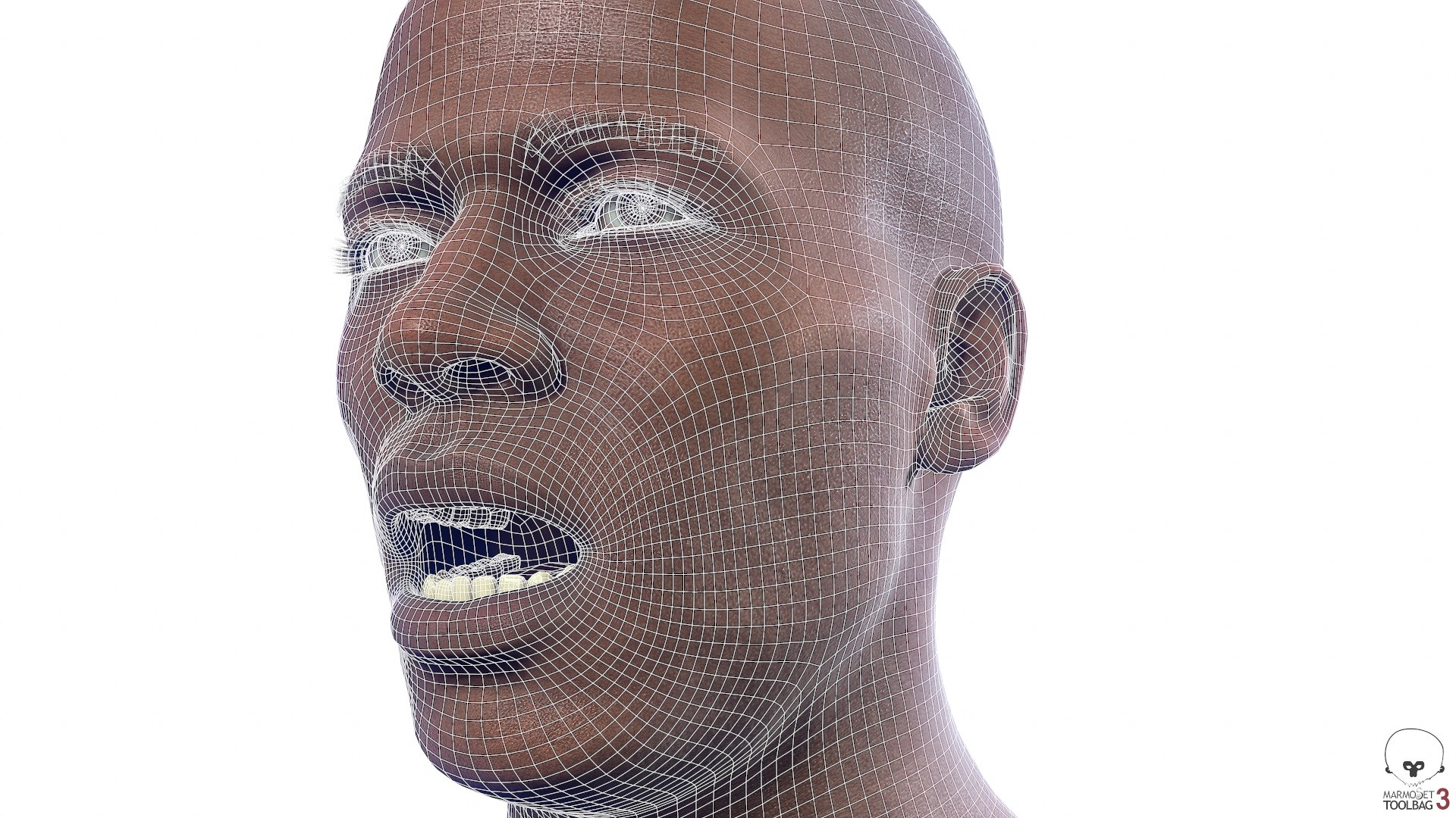 Alex lashko averageblackmale by alexlashko wireframe 03