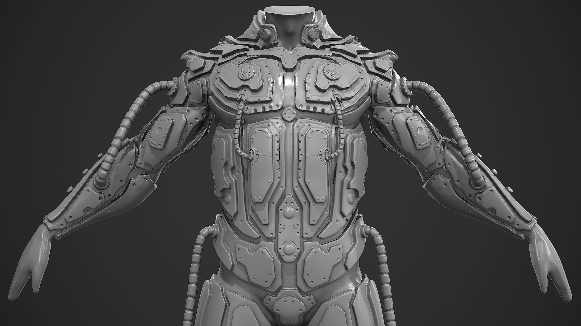 Armor Sculpting Test