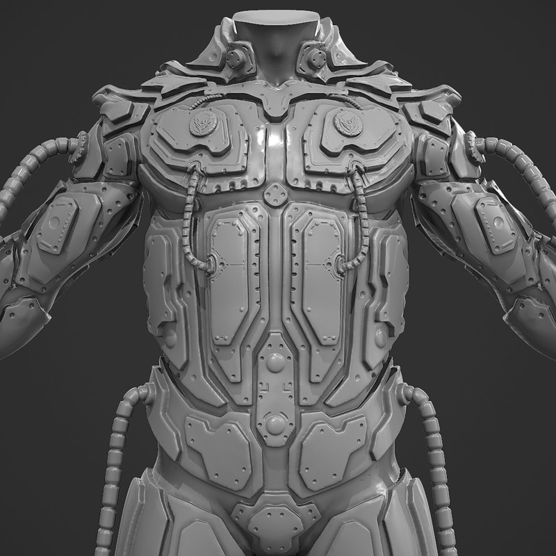Armor Sculpting Test