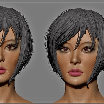 New asian Woman wip test