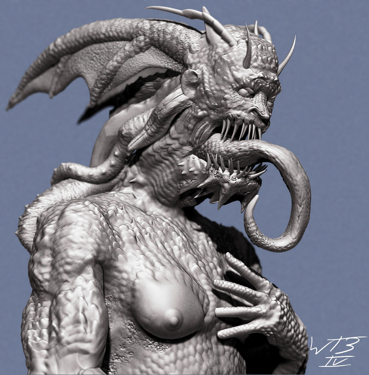 William bulger demon zbrush