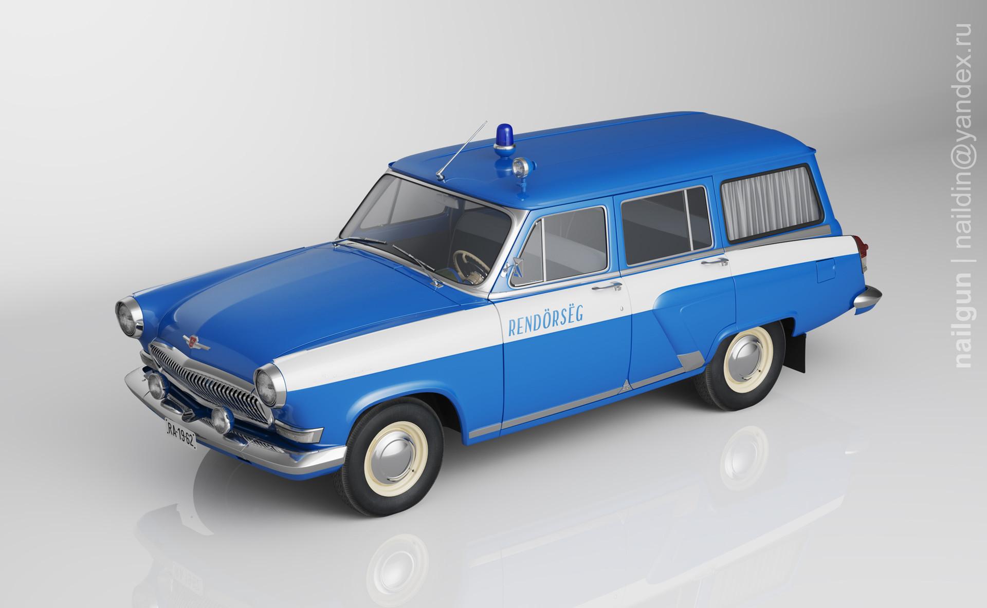 Nail khusnutdinov pwc 034 000 gaz 22 volga miniature