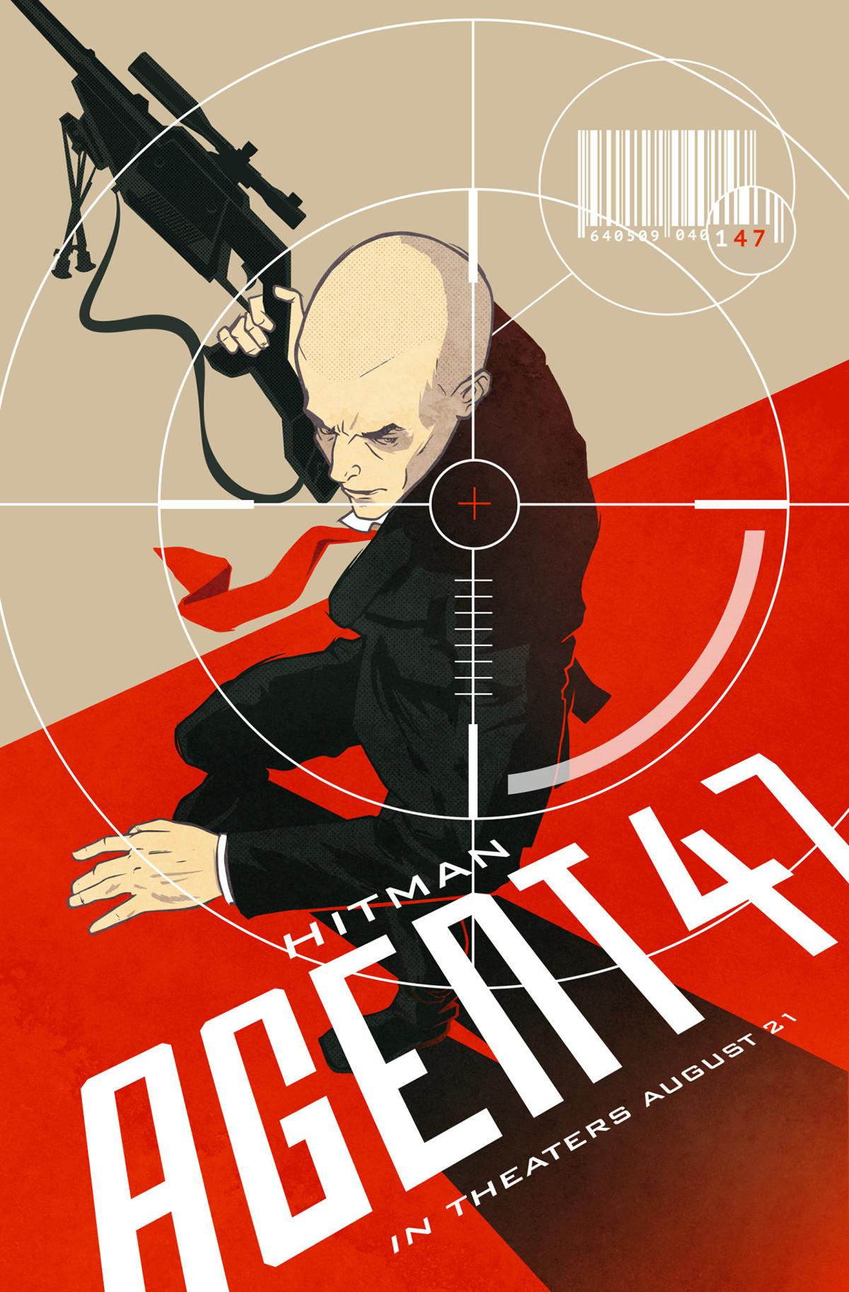 Artstation Hitman Agent 47 Alternative Movie Poster Andre Greppi